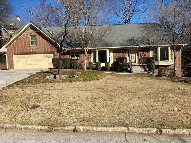 2412 Greenglade Road NE, Atlanta, GA 30345 (MLS #6847410) :: Scott Fine Homes at Keller Williams First Atlanta