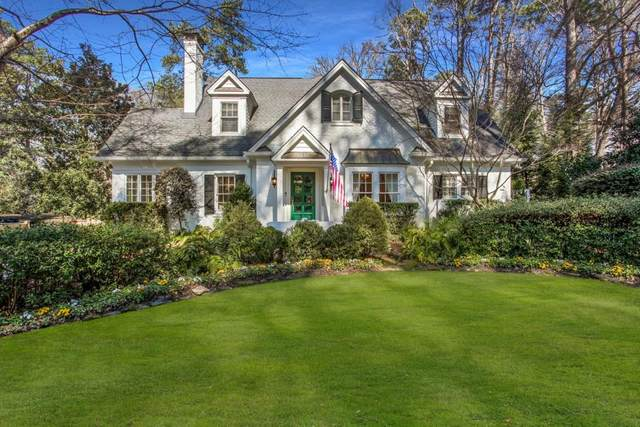 1317 Peachtree Battle Avenue, Atlanta, GA 30327 (MLS #6847497) :: Tonda Booker Real Estate Sales