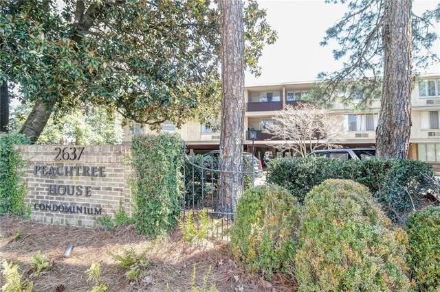 2637 Peachtree Road NE #311, Atlanta, GA 30305 (MLS #6847558) :: Path & Post Real Estate