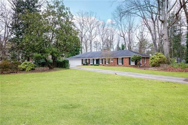1025 Coronado Drive NW, Atlanta, GA 30327 (MLS #6847884) :: Thomas Ramon Realty