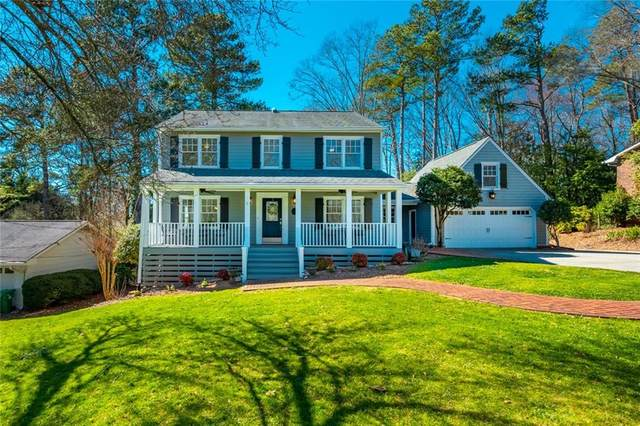 1434 Cedarhurst Drive, Dunwoody, GA 30338 (MLS #6847888) :: The Cowan Connection Team