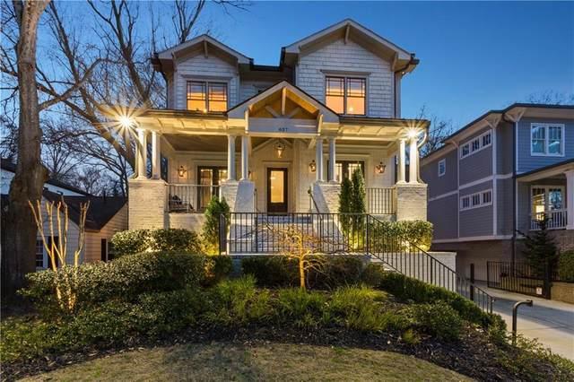827 Ponce De Leon Terrace NE, Atlanta, GA 30306 (MLS #6847936) :: The Zac Team @ RE/MAX Metro Atlanta