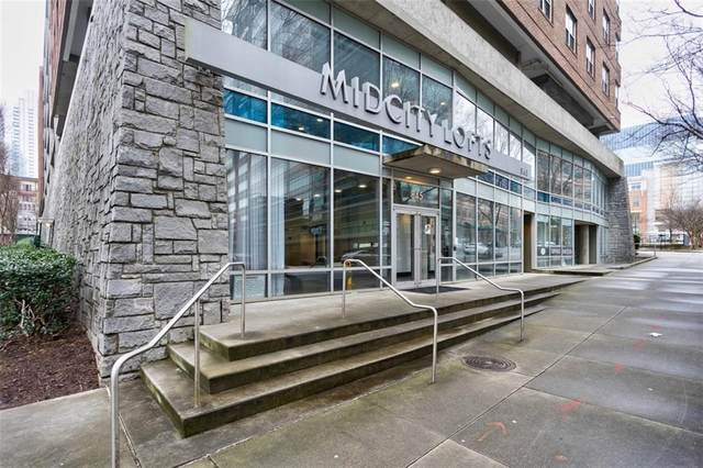 845 Spring Street NW #430, Atlanta, GA 30308 (MLS #6848333) :: The Butler/Swayne Team