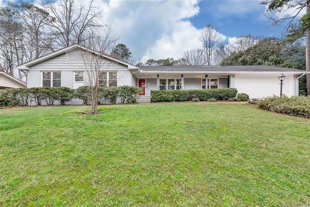 1662 Rainier Falls Drive NE, Atlanta, GA 30329 (MLS #6848460) :: The Kroupa Team | Berkshire Hathaway HomeServices Georgia Properties