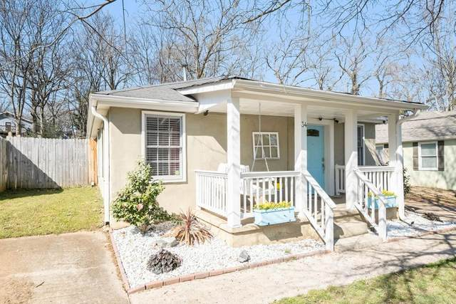 34 Hutchinson Street, Atlanta, GA 30307 (MLS #6848865) :: The Butler/Swayne Team