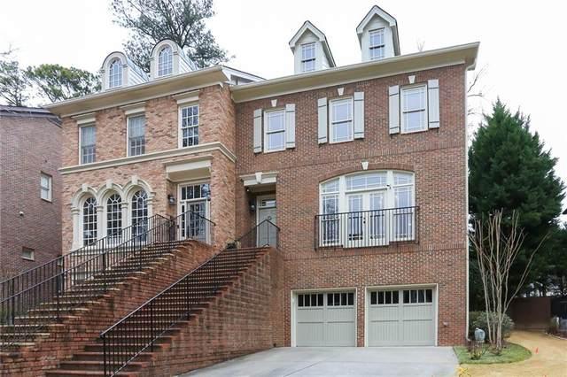 626 Timm Valley Road NE B, Atlanta, GA 30305 (MLS #6848875) :: Charlie Ballard Real Estate