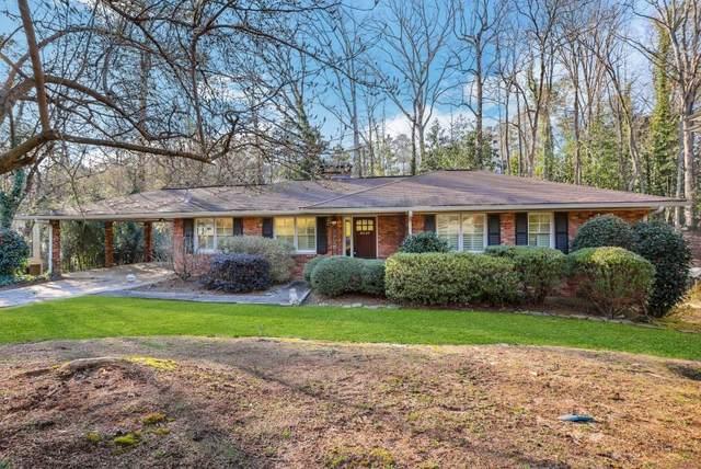 6540 Scott Valley Road, Atlanta, GA 30328 (MLS #6849540) :: RE/MAX Prestige