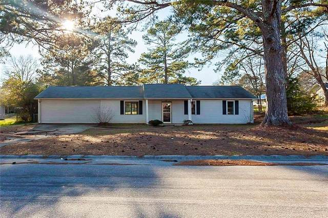 2281 Briarwood Circle SW, Conyers, GA 30094 (MLS #6849735) :: Path & Post Real Estate