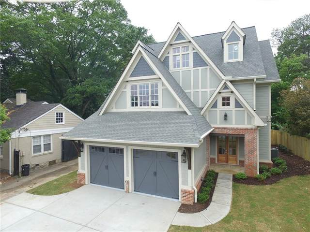 1283 N Druid Hills Road NE, Brookhaven, GA 30319 (MLS #6850065) :: RE/MAX Prestige
