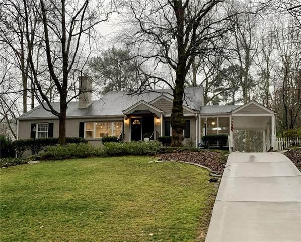 734 Woodley Drive NW, Atlanta, GA 30318 (MLS #6850402) :: The Zac Team @ RE/MAX Metro Atlanta