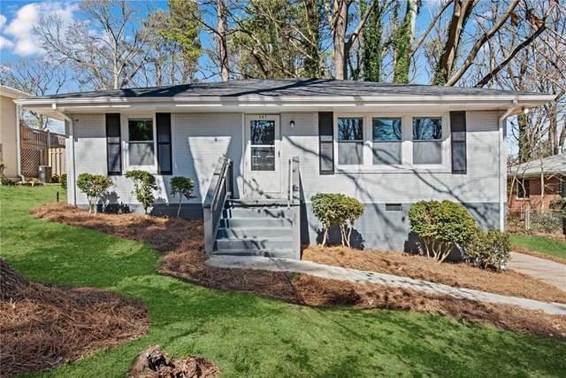 387 Scott Drive SE, Marietta, GA 30067 (MLS #6851620) :: North Atlanta Home Team