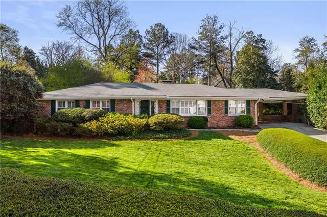 320 Eppington Drive NW, Atlanta, GA 30327 (MLS #6852242) :: The Hinsons - Mike Hinson & Harriet Hinson