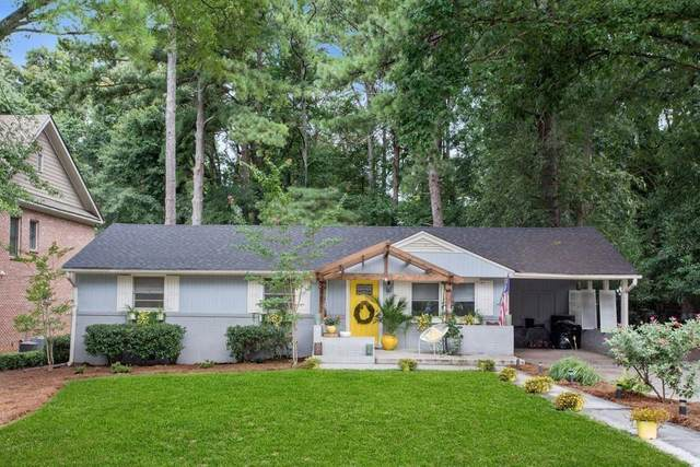 1872 Canmont Drive NE, Brookhaven, GA 30319 (MLS #6852669) :: Rock River Realty