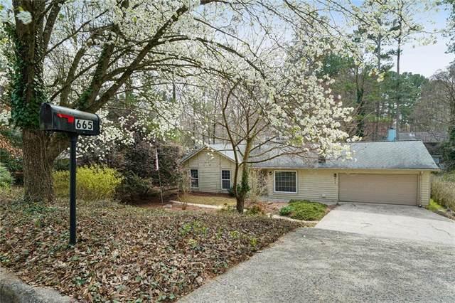 665 Sailwind Drive, Roswell, GA 30076 (MLS #6854630) :: North Atlanta Home Team