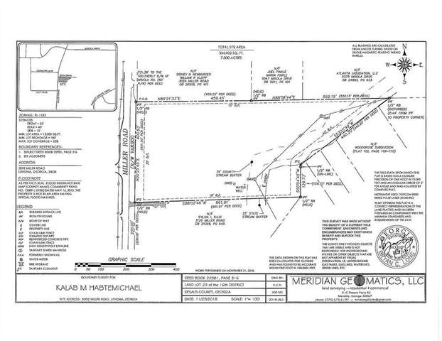 3092 Miller Road, Lithonia, GA 30038 (MLS #6855814) :: The Hinsons - Mike Hinson & Harriet Hinson
