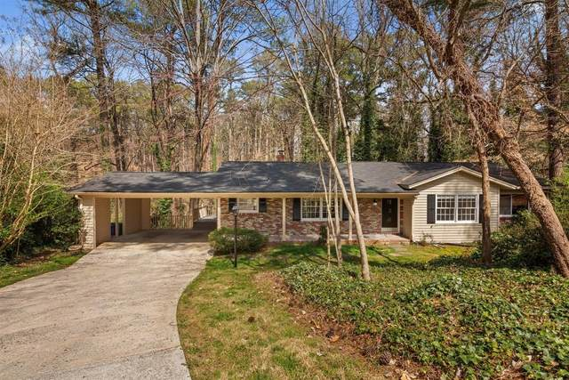 2200 Thorncliff Drive NE, Atlanta, GA 30345 (MLS #6856887) :: North Atlanta Home Team