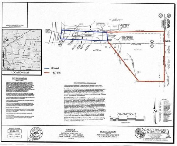 1807 Lenox Road NE, Atlanta, GA 30306 (MLS #6857069) :: Dillard and Company Realty Group
