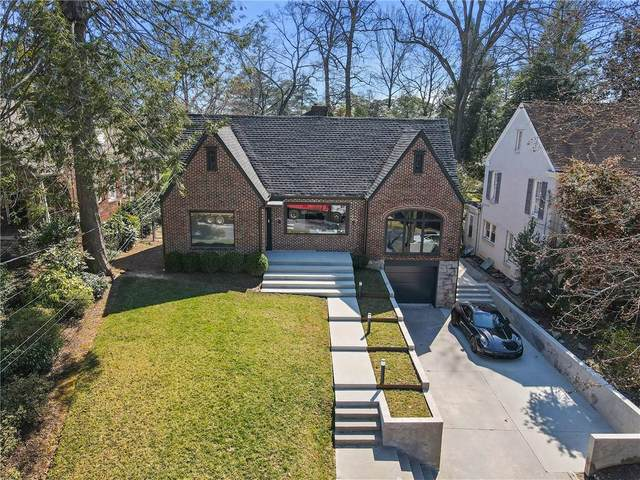 433 Brentwood Drive NE, Atlanta, GA 30305 (MLS #6857867) :: The Butler/Swayne Team