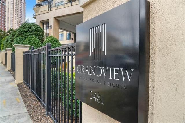 3481 Lakeside Drive NE #1402, Atlanta, GA 30326 (MLS #6858358) :: Good Living Real Estate