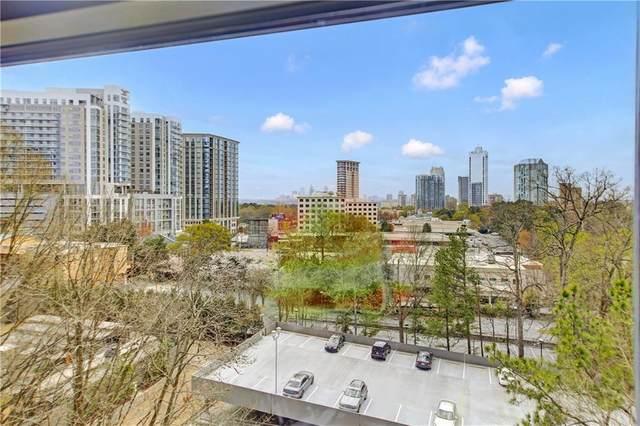 3040 Peachtree Road NW #611, Atlanta, GA 30305 (MLS #6860208) :: Good Living Real Estate