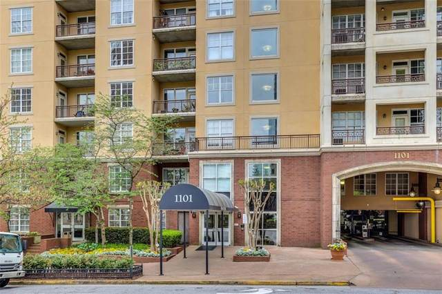 1101 Juniper Street NE #411, Atlanta, GA 30309 (MLS #6860784) :: The Cowan Connection Team