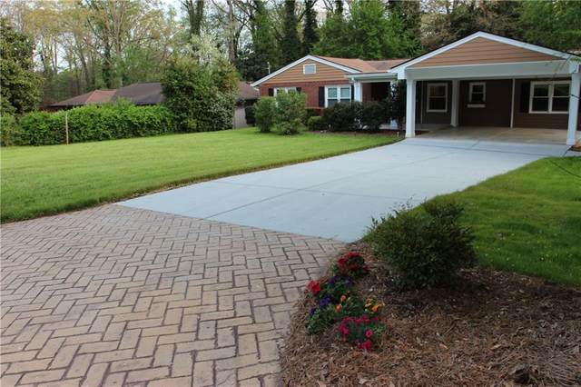 1419 Lively Ridge Road NE, Atlanta, GA 30329 (MLS #6861542) :: Path & Post Real Estate