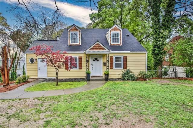 1206 Church Street, Decatur, GA 30030 (MLS #6861880) :: Good Living Real Estate