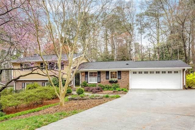 1634 Chateau Drive, Dunwoody, GA 30338 (MLS #6861912) :: North Atlanta Home Team