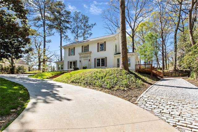 318 Brentwood Drive NE, Atlanta, GA 30305 (MLS #6863702) :: The Butler/Swayne Team