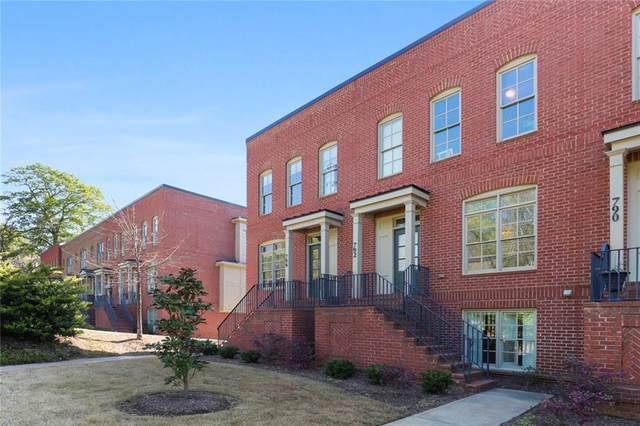 794 Virginia Park Circle NE #103, Atlanta, GA 30306 (MLS #6864328) :: North Atlanta Home Team