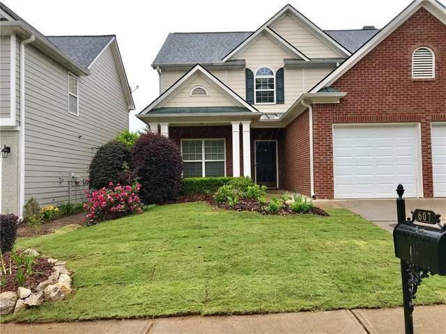 607 Hidden Close, Woodstock, GA 30188 (MLS #6865620) :: Kennesaw Life Real Estate