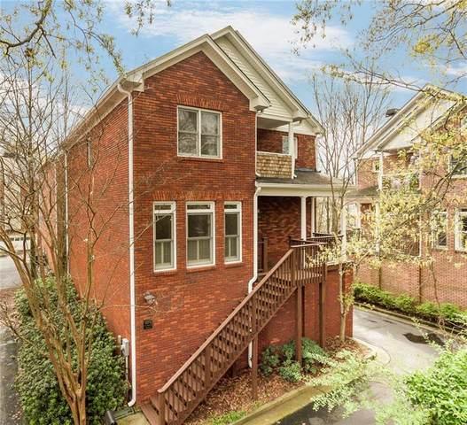 823 Saint Charles #6 Avenue NE, Atlanta, GA 30306 (MLS #6865654) :: North Atlanta Home Team