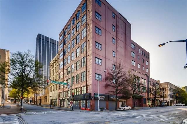 87 Peachtree Street SW #504, Atlanta, GA 30303 (MLS #6865665) :: AlpharettaZen Expert Home Advisors