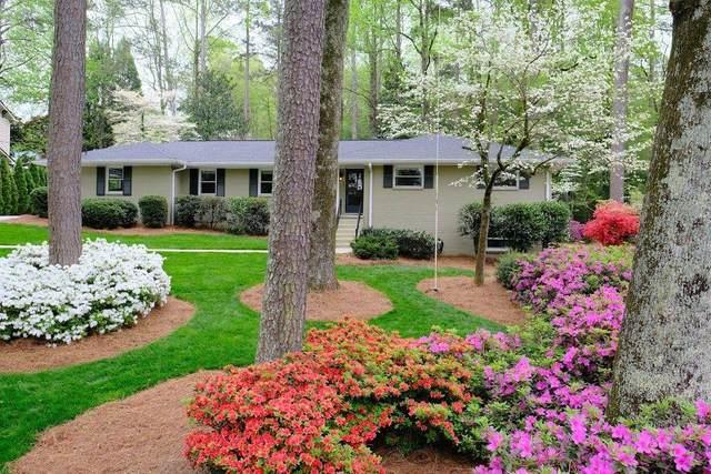 1987 Silvastone Drive NE, Atlanta, GA 30345 (MLS #6866081) :: North Atlanta Home Team