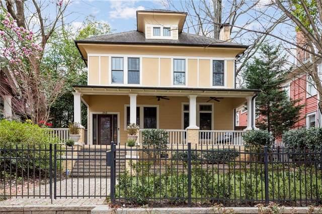 283 9th Street NE, Atlanta, GA 30309 (MLS #6866164) :: Oliver & Associates Realty