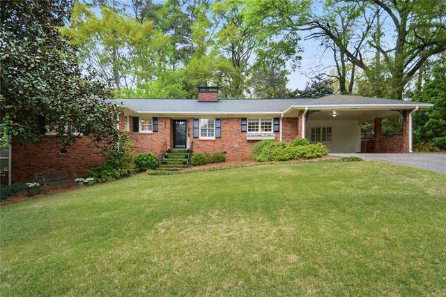 378 Lakemoore Drive NE, Atlanta, GA 30342 (MLS #6867884) :: Thomas Ramon Realty