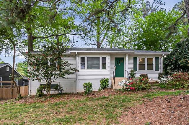 1708 Belle Isle Circle NE, Atlanta, GA 30329 (MLS #6868035) :: The Gurley Team