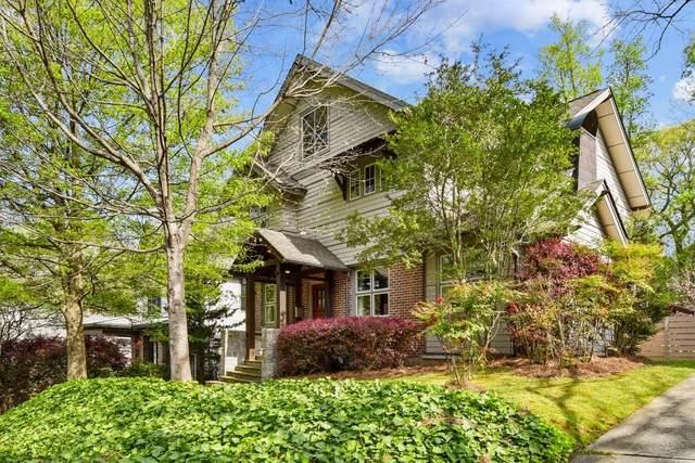 854 Highland Terrace NE, Atlanta, GA 30306 (MLS #6868491) :: North Atlanta Home Team
