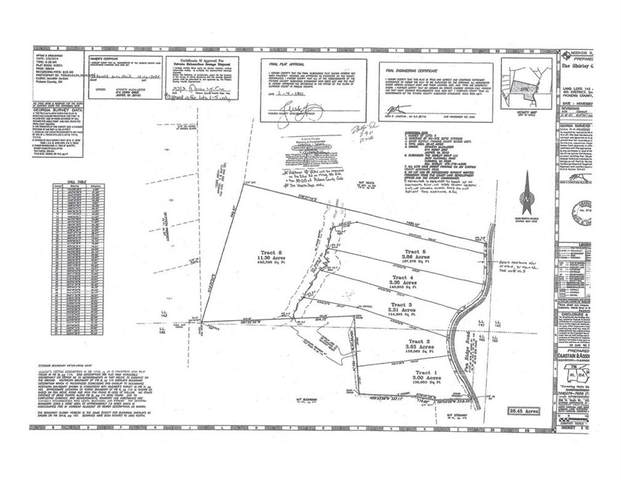 Lot 1 Pea Ridge Road, Ball Ground, GA 30107 (MLS #6868516) :: North Atlanta Home Team
