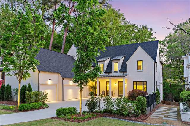811 Courtenay Drive NE, Atlanta, GA 30306 (MLS #6869973) :: Thomas Ramon Realty