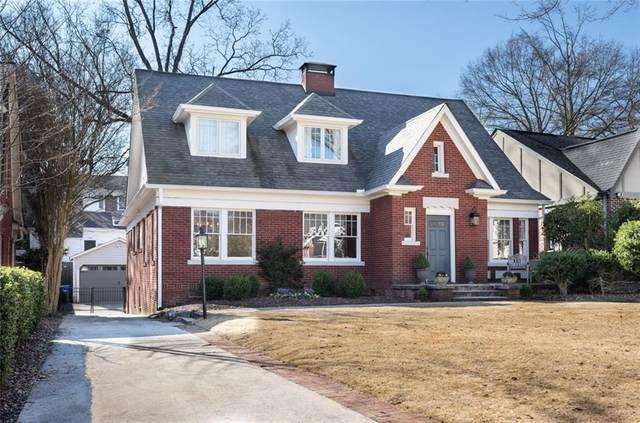 1275 Oakdale Road, Atlanta, GA 30307 (MLS #6870021) :: Kennesaw Life Real Estate