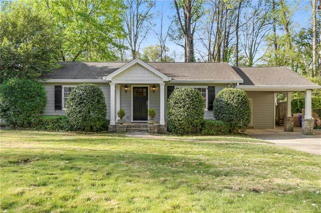 1501 Grant Drive NE, Brookhaven, GA 30319 (MLS #6870050) :: Thomas Ramon Realty