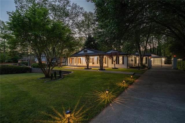 5242 Meadowcreek Drive, Dunwoody, GA 30338 (MLS #6870468) :: Scott Fine Homes at Keller Williams First Atlanta