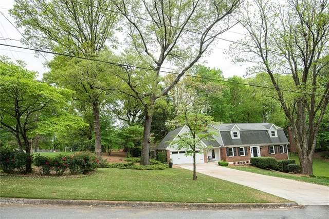 401 Castleridge Drive, Atlanta, GA 30342 (MLS #6870480) :: North Atlanta Home Team