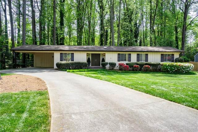215 Berwick Drive, Sandy Springs, GA 30328 (MLS #6870527) :: RE/MAX Paramount Properties