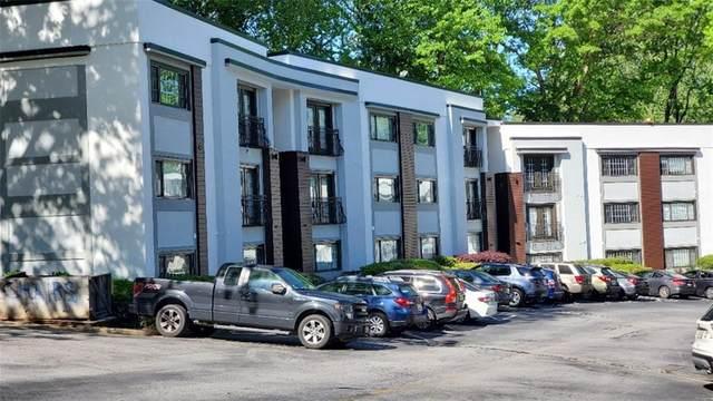 1445 Monroe Drive NE A7, Atlanta, GA 30324 (MLS #6870828) :: Good Living Real Estate