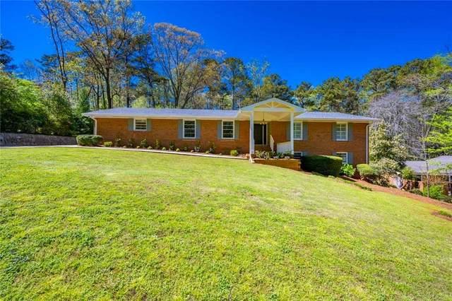 2118 Skytop Drive, Stone Mountain, GA 30087 (MLS #6871816) :: North Atlanta Home Team