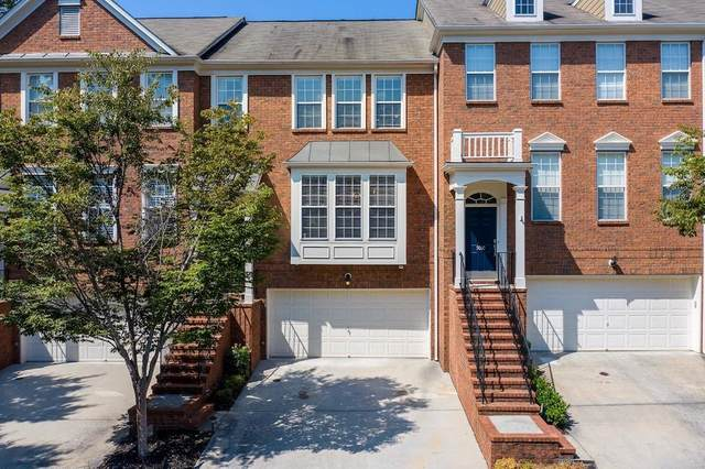 5012 Foxfield Trace #14, Atlanta, GA 30339 (MLS #6871982) :: The North Georgia Group