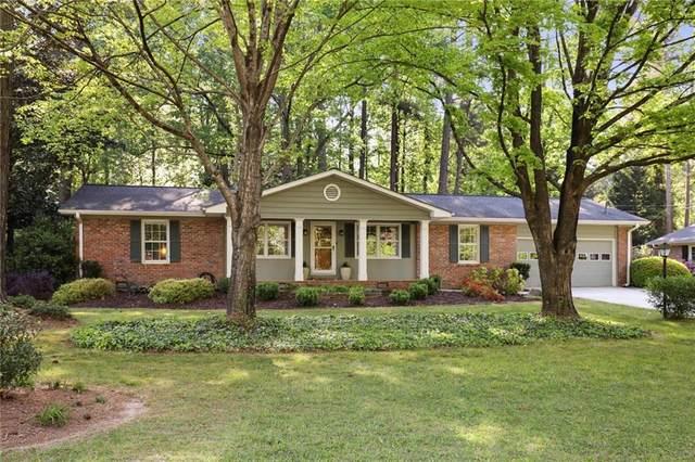 4351 Old Georgetown Trail, Dunwoody, GA 30338 (MLS #6872029) :: North Atlanta Home Team