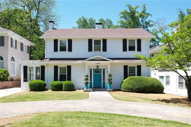 1350 Briarcliff Road NE, Atlanta, GA 30306 (MLS #6872317) :: RE/MAX Prestige